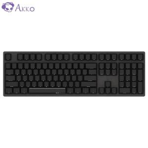 AKKO Ducky Zero 3108 PBT 机械键盘 (Cherry红轴、黑色)