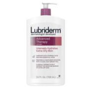 Lubriderm 先进保湿乳液,含维生素E和B5,深层补水,适合特别干燥的皮肤24液体盎司,709毫升(3瓶)