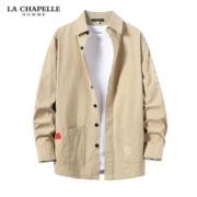 百亿补贴: La Chapelle 拉夏贝尔 100%纯棉男士 休闲衬衫44.9元包邮(需用券)