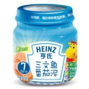 PLUS会员! Heinz 亨氏 蔬果肉类混合泥 113g 三文鱼番茄味