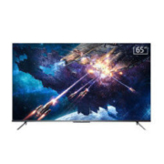 TCL 65V8 65英寸液晶平板电视机 4K超高清 防蓝光护眼 超薄金属机身 全面屏 智慧屏 人工智能 腾讯云游戏电视