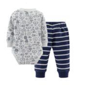 Carter's 孩特 婴儿连身衣裤子 2件套