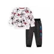Disney 迪士尼 儿童米奇卫衣+仿牛仔裤子2件套