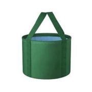 TOPENTAR 可折叠水桶 旅行足浴盆 军绿色水桶 中号款