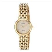 Seiko 精工 SUP352 女士太阳能石英金色手表