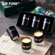 Air funk 空气放克 无烟助眠香薰蜡烛礼盒 55gx3个x2盒