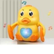 移动专享:衾美 声控触控 音乐灯光 翻滚小黄鸭14.9元包邮(需用券)