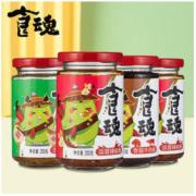 juanchengpai 鹃城牌 香菇牛肉酱拌饭酱 200g*4罐