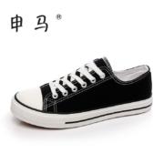 申马 百搭 新款 帆布鞋 女 小白布鞋