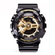 日本原产 卡西欧 G SHOCK系列 GA-110GB-1A 限量黑金悟空版运动手表
