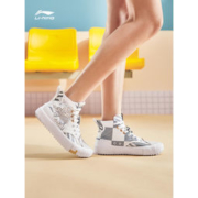 LI-NING 李宁 迪士尼联名款 AGCR179 情侣滑板运动鞋