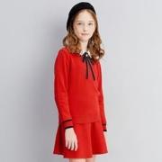 Deesha 笛莎 E12110301FV 毛衣套装裙  120-165CM