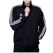 adidas 阿迪达斯 TR30J-BW 男士运动夹克 黑色 L