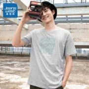 真维斯 JW-02-173TB590 男士纯棉圆领T恤低至17.5元