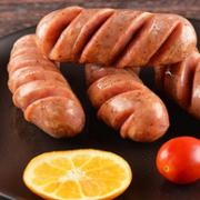 北京老字号,猪肉含量80%+:4斤 大红门 火山石纯肉烤肠64元包邮