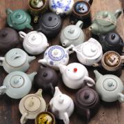 厨什汇 陶瓷茶壶 1个 随机发货