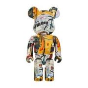 HOWstore Bearbrick 1000%积木熊Jean Michel Basquiat 潮流艺术