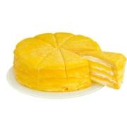 帕瑞安吉拉 榴莲千层蛋糕 500g 榴莲果肉200g以上59元包邮