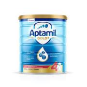 Aptamil 爱他美 金装 婴幼儿配方奶粉 4段 900g126.36元