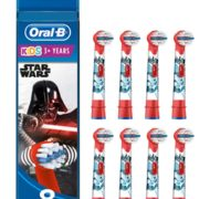 prime会员!Oral-B 欧乐B Stages Power 儿童电动牙刷替换刷头*8支 到手144.42元