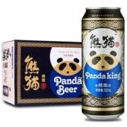 熊猫王 12度 纯麦芽 精酿啤酒 500ml*12听59元包邮