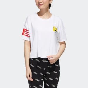 adidas 阿迪达斯 宝可梦联名 女装 短袖T恤 GN3005 GN3006