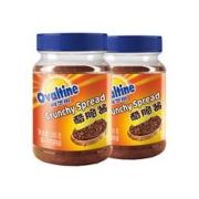 阿华田(Ovaltine)  酷脆酱早餐面包涂抹酱  200g*2