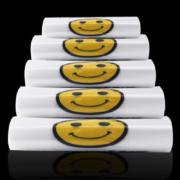 fajt 笑脸透明塑料袋 中厚款 20*32cm 50个