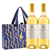 法国原瓶进口 拉蒙 波尔多AOC 贵腐甜白葡萄酒 750ml*2瓶 礼盒装184.15元38节价此前244元