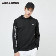 JackJones 杰克琼斯 220133523 男士连帽卫衣