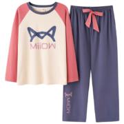 Miiow 猫人 MR8203-1016 女士家居服套装