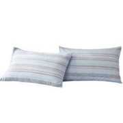 MERCURY 水星家纺 40支简色水洗棉枕套 48*74cm 一对装9元包邮(需用券)