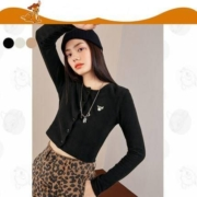 太平鸟 A6DCA4354 小鹿斑比联名 女士短款针织开衫89.9元包邮(需用券)
