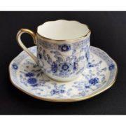 NARUMI 鸣海 Milano系列 骨瓷咖啡杯碟套装 130ml 含税到手¥213.67
