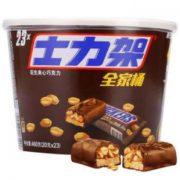SNICKERS 士力架 花生夹心巧克力 全家桶 460g¥25.92 5.8折