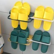 壹赞良品 拖鞋架 浴室卫生间收纳神器 免打孔墙壁壁挂式6.9元