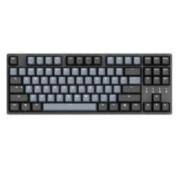 DURGOD 杜伽 TAURUS K320 87键 有线机械键盘 深空灰 Cherry茶轴 无光