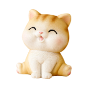 紫香凝 可爱猫咪小摆件