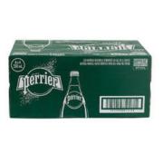 Perrier 巴黎水 含气天然矿泉水 330ml*24瓶装 *5件385元(合77元/件)