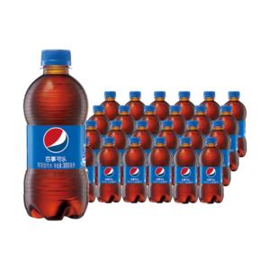 88VIP:百事可乐 碳酸汽水饮料 300mlx24瓶 *4件