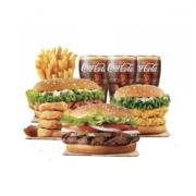 汉堡王 超值三人餐 S23 电子兑换券55元