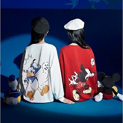 ONEMORE×迪士尼联名款 A1JAA308120400 女士宽松卫衣