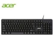acer 宏碁 K212 有线键盘 黑色