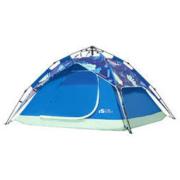 MOBI GARDEN 牧高笛 零动经典版 帐篷 EX19561002 蓝色印花 3-4人