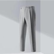 HLA 海澜之家 HKXAD2Q025A25 男士时尚色织翻脚口设计西裤