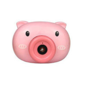 Joying Baby 小猪粉色泡泡机 2瓶水+1个背带