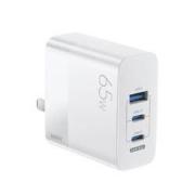 6日0点:REMAX睿量GaN氮化镓65W三口充电器+100W快充线套装79元包邮(需用券)
