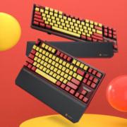Hyeku 黑峡谷 X3 87键 2.4G无线双模 机械键盘