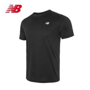 New Balance 男款 AMT03203 经典logo休闲圆领短袖运动T恤