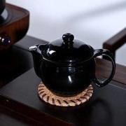 唐仟 黑色鸭嘴茶壶 1个装